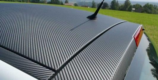 coche techo carbono